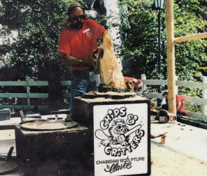 Dave Clarke - Chips and Critters Chainsaw Sculptor